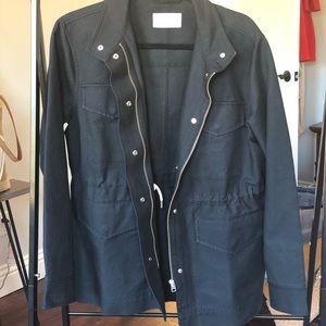 Everlane Modern Utility Jacket in Black